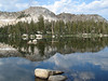 Island Lake in the Dinkey Lakes Wilderness, 7-30-2006, 7:37 am