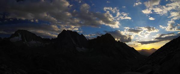 Mount Darwin, Mount Mendel, Darwin Canyon, 9/29/2012